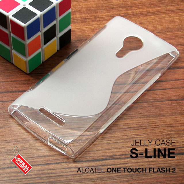 Gel TPU S-Line Soft Case Alcatel One Touch Flash 2 .