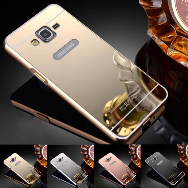 Mirror Metal Slide Hard Case Samsung Galaxy Grand Duos ...