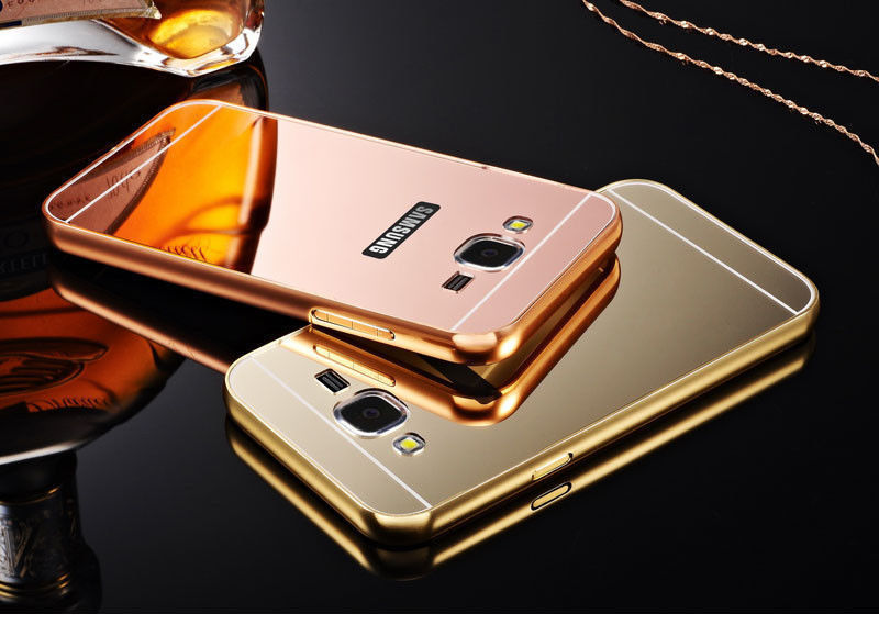 ... Mirror Metal Slide Hard Case Samsung Galaxy Grand Duos ...